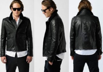 Best Mens Leather Bomber Jacket Reviews